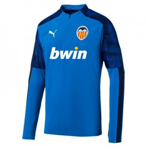Valencia CF 1/4 Zip Training Top - Blue