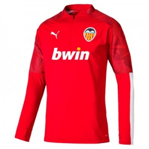 Valencia CF 1/4 Zip Training Top - Red