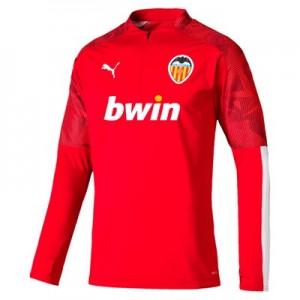 Valencia CF 1/4 Zip Training Top – Red