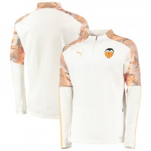 Valencia CF Training Fleece - White
