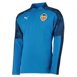 Valencia CF Training Fleece - Blue