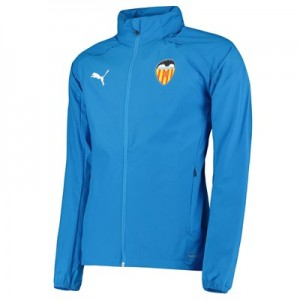 Valencia CF Training Rain Jacket - Blue