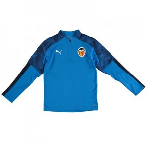Valencia CF 1/4 Zip Training Top – Blue – Kids