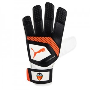 Valencia CF Puma One Grip 4 Goalkeeper Gloves – White