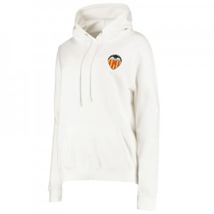 Valencia CF Crest Hoody - White - Womens