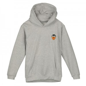 Valencia CF Crest Hoody - Grey - Junior