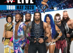 WWE Live Tour May 2020 tickets