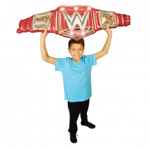 WWE Airnormous Deluxe Universal Championship Inflatable Toy