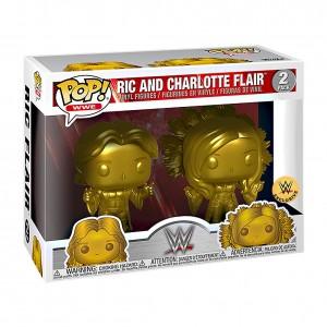 Ric Flair & Charlotte Flair Gold POP! Vinyl Figure 2-Pack