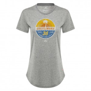 "WrestleMania 36 ""Beach Club"" Sportiqe Women's T-Shirt"