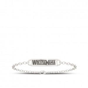WrestleMania 35 Bixler Chain Cuff Bracelet in Sterling Silver