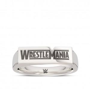 WrestleMania 35 Bixler Ring in Sterling Silver