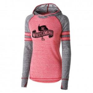 WrestleMania 36 Women's Lightweight Pullover Hoodie Sweatshirt