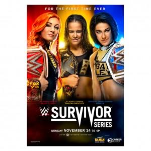 Survivor Series 2019 Event Poster