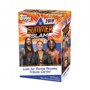 WWE SummerSlam 2019 Topps Trading Card Box Set