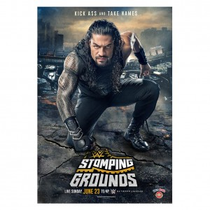 WWE Stomping Grounds 2019 Poster