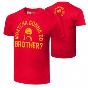 "Hulk Hogan ""Whatcha Gonna Do Brother?"" Authentic T-Shirt"