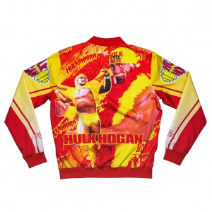 "Hulk Hogan ""Hulk Rules"" Fanimation Chalk Line Jacket"