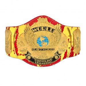 "Hulk Hogan ""Hulkamania"" Signature Series Championship Replica Title"