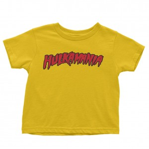 """Hulk Hogan """"Hulkamania"""" Toddler T-Shirt"""