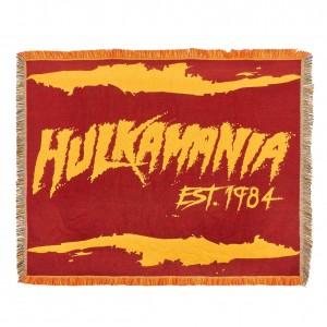 "Hulk Hogan ""Hulkamania Est. 1984"" Tapestry Blanket"