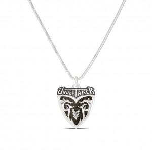 Undertaker Name Bixler Pendant in Sterling Silver