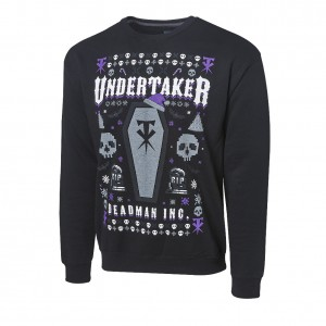"Undertaker ""Deadman Inc."" Ugly Holiday Sweatshirt"