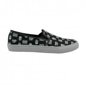 Stone Cold Steve Austin Slip-On Low Chalk Line Sneaker