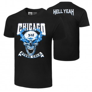 "Stone Cold Steve Austin ""Hell Yeah: Chicago"" T-Shirt"