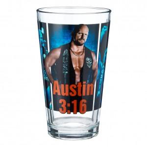 Stone Cold Steve Austin Superstar Pint Glass