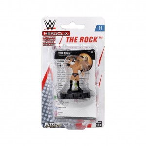 The Rock HeroClix Expansion Pack