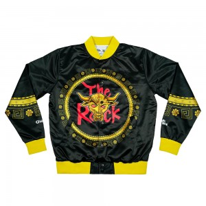 The Rock $500 Shirt Retro Fanimation Chalk Line Jacket