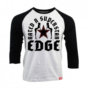 "Edge ""Rated-R Superstar"" Sportiqe Raglan Shirt"