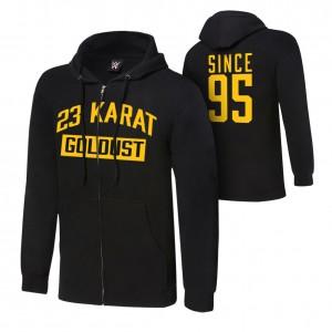 "Goldust ""23 Karat"" Lightweight Hoodie Sweatshirt"