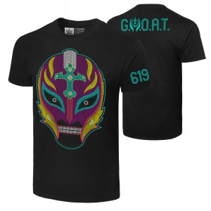 "Rey Mysterio ""Booyaka 619"" Authentic T-Shirt"