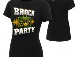"Brock Lesnar ""Brock Party"" Women's Authentic T-Shirt"