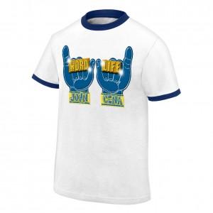 "John Cena ""Word Life"" Ringer Retro T-Shirt"