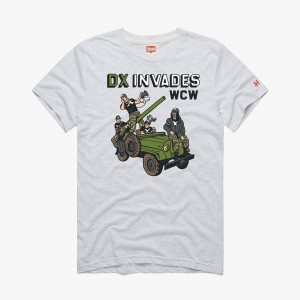 "D-Generation X ""WCW Invasion"" Homage T-Shirt"