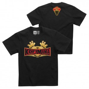 "Kofi Kingston ""Kofi-Mania"" Youth Authentic T-Shirt"