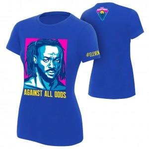 """Kofi Kingston """"Against All Odds"""" Women's Authentic T-Shirt"""