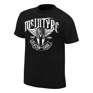 "Drew McIntyre ""Beacon In The Dark"" Authentic T-Shirt"