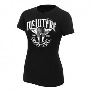"Drew McIntyre ""Beacon In The Dark"" Women's Authentic T-Shirt"