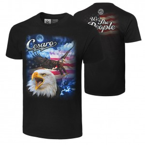 "Cesaro ""We The People"" Retro T-Shirt"