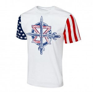 "Seth Rollins ""Stars & Stripes"" Collection T-Shirt"