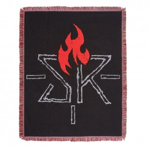 """Seth Rollins """"Ignite the Will"""" Tapestry Blanket"""