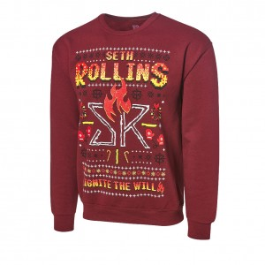 "Seth Rollins ""Ignite the Will"" Ugly Holiday Sweatshirt"