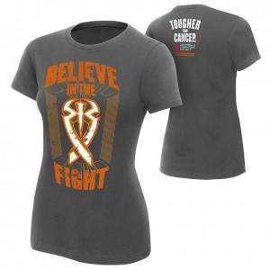 "Roman Reigns ""Tougher Than Cancer"" Women's Authentic T-Shirt"