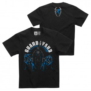 """Roman Reigns """"Guard The Yard"""" Youth Authentic T-Shirt"""