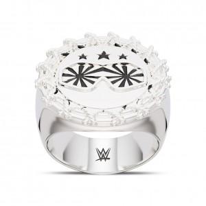 Macho Man Star Bixler Men's Ring in Sterling Silver