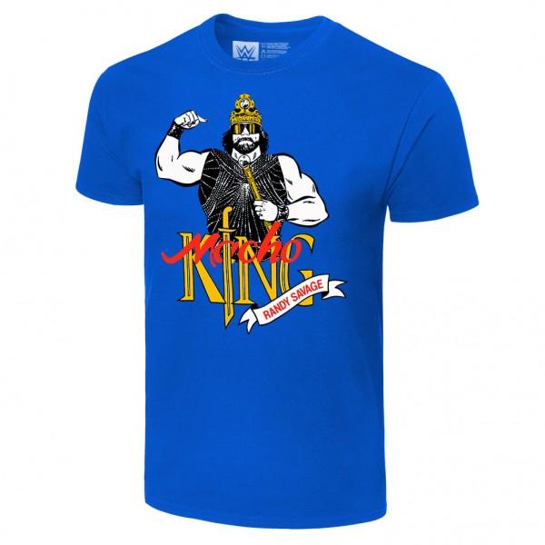 """Macho Man Randy Savage """"Macho King"""" Retro T-Shirt"""